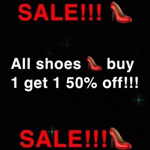 Shoes - SHOE SALE! BUY 1 GET 1 50% OFF!!!👠👠👠